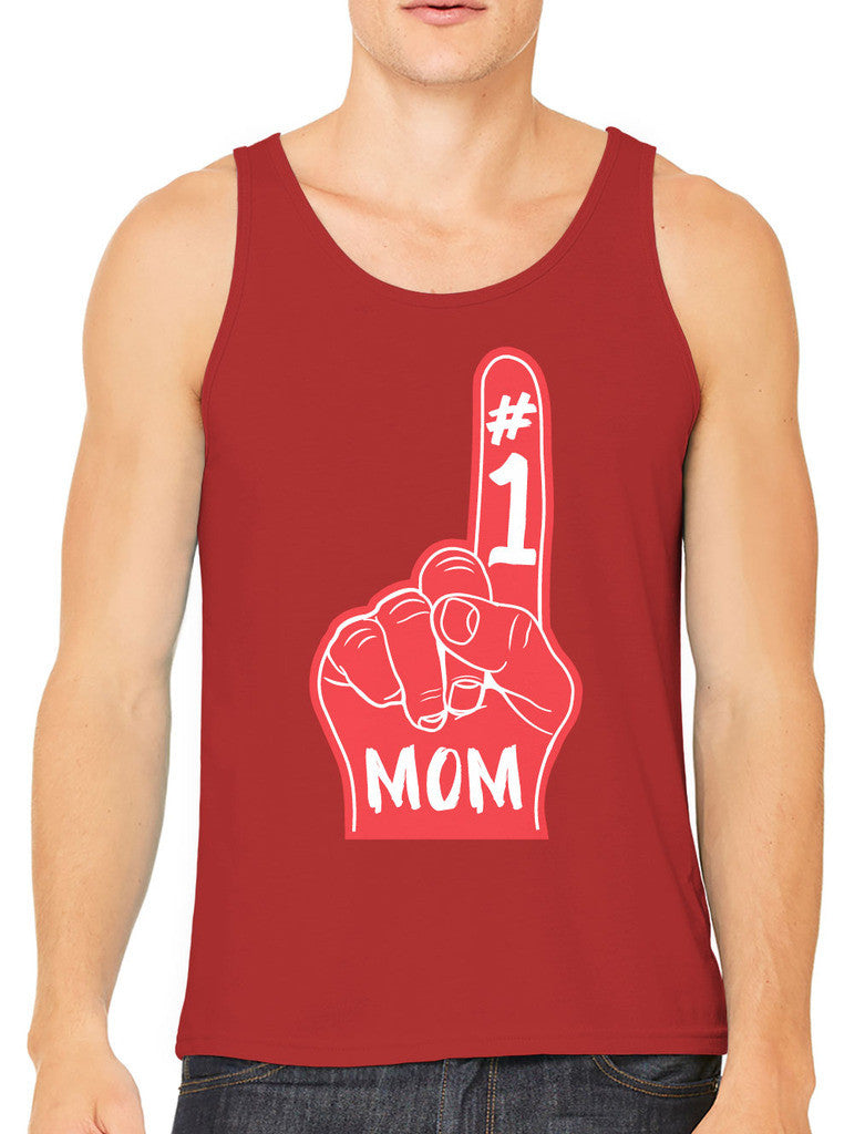 Number 1 Mom Men's Tank Top