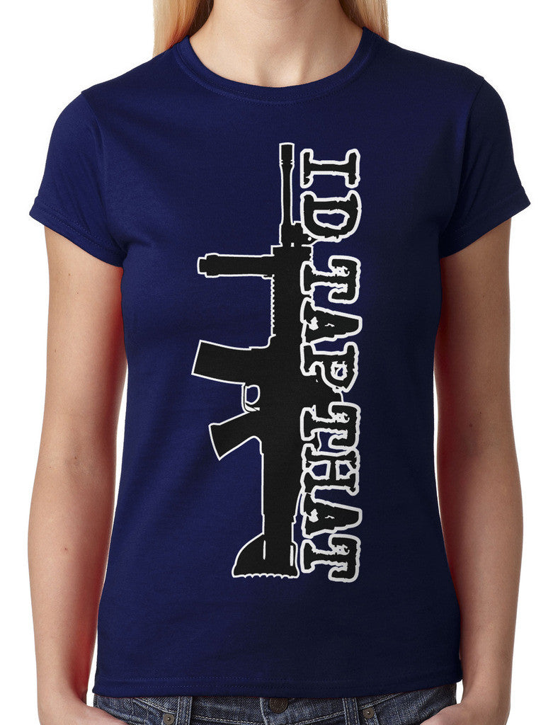 I'd Tap That Junior Ladies T-shirt