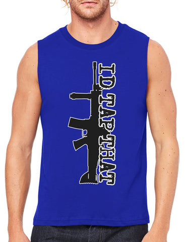 Come With Me If You Want To Train Men's Sleeveless T-Shirt