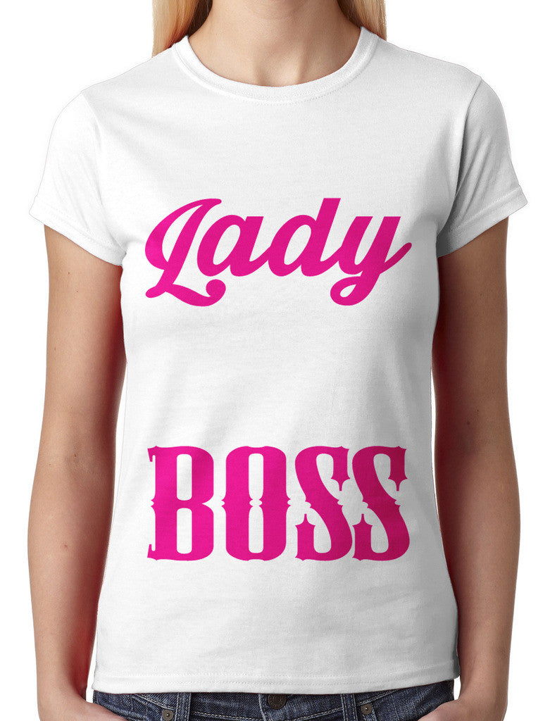 Act Like A Lady Lift Like A Boss Junior Ladies T-shirt