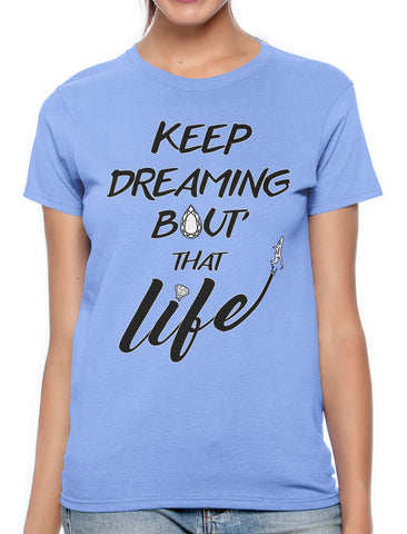 Keep Dreaming Bout' That Life Men's Sleeveless T-Shirt