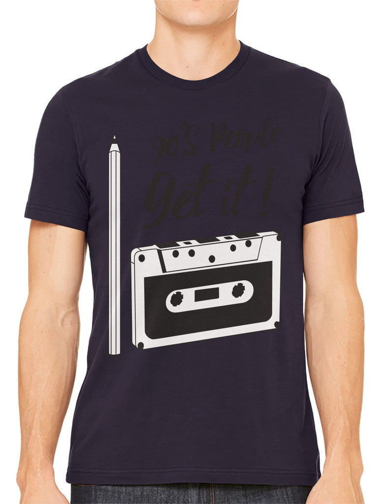 90's People Get It Cassette Tape Men's T-shirt