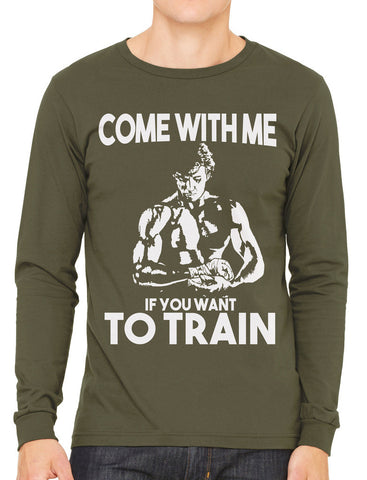 Come With Me If You Want To Train Men's V-neck T-shirt