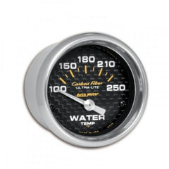 Autometer Carbon Water Temp 100-250F