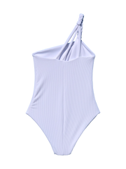 Reversible ELLE One Piece - Ribbed White