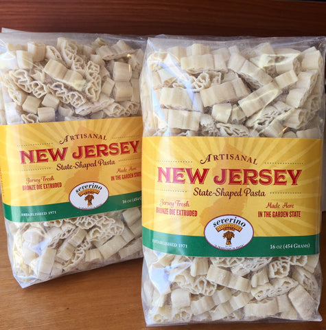 Severino's NJ shaped pasta
