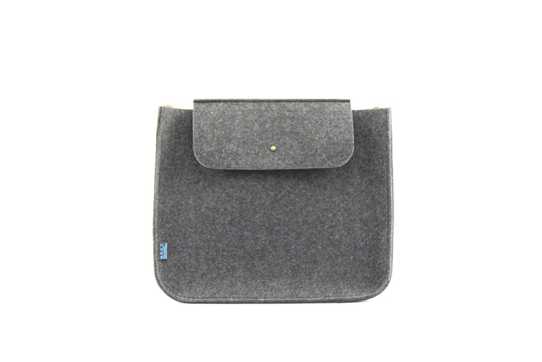 PARKER SMRT FELT/MCRO SUEDE Small Shoulder Bag