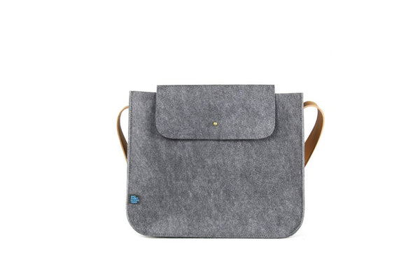 PARKER SUPRR FELT/MCRO LEATHER Small Shoulder Bag