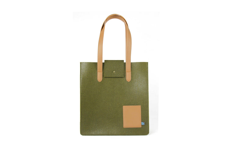 PARKER SUPR FELT/VEGN LEATHER Tote