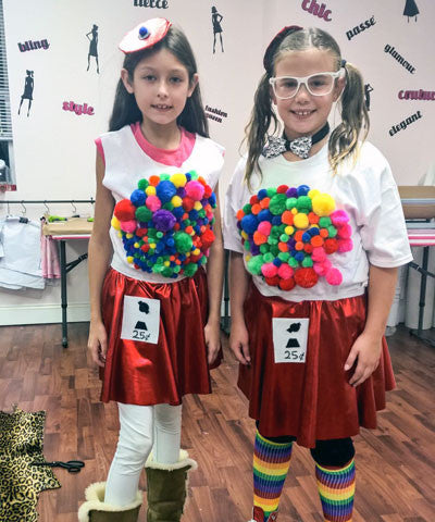 halloween sewing workshop for kids