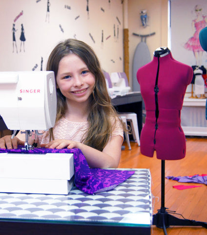 "April: Earth Day ""upcycled"" Eco Dress - Sewing Workshop"