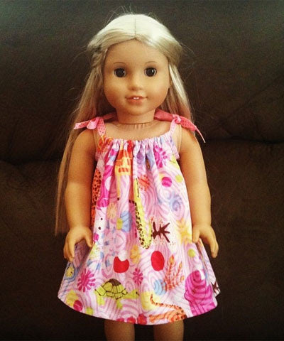 Make American Girl Doll & Me Dresses - Merrick