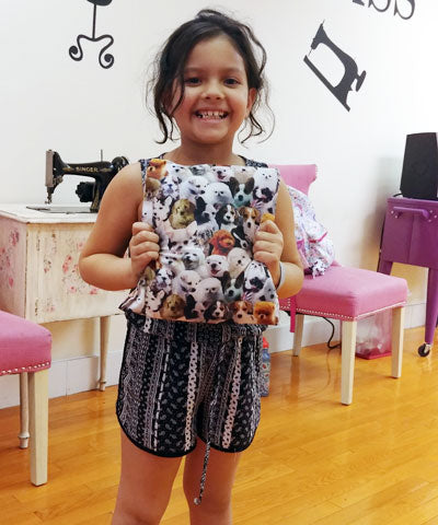 8 Week - Beginners Sewing Class for Kids
