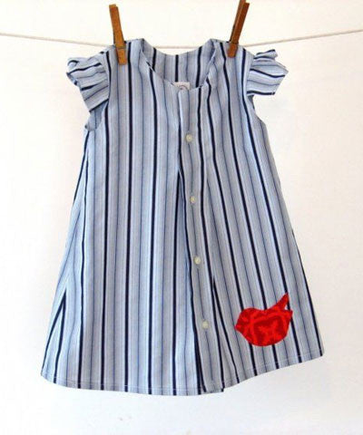 Make a Shirt Dress - Merrick