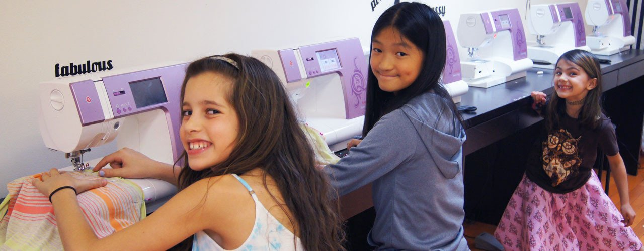 Sewing Classes for kids & teens merrick