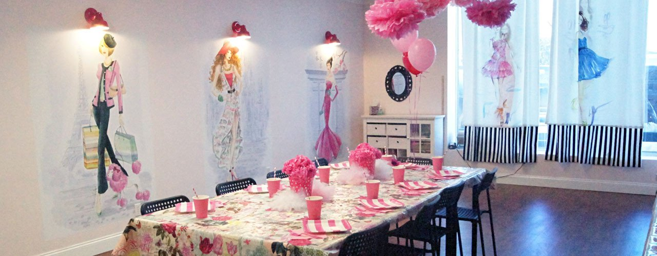 fashion design runway and sewing birthday parties in merrick long island