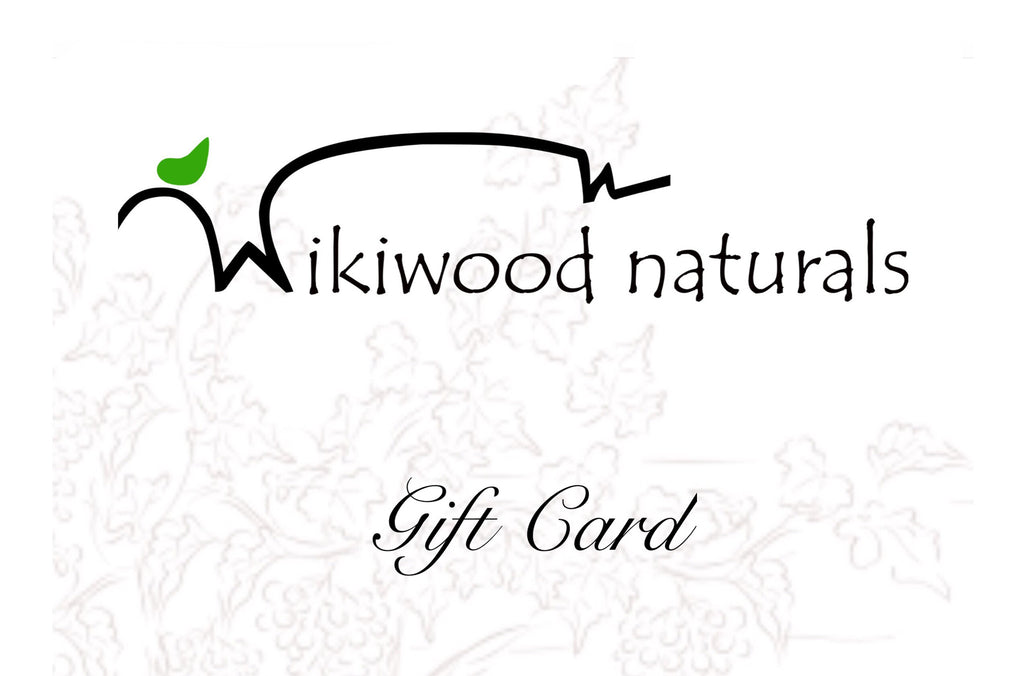 Wikiwood Naturals Gift Cards $5.00