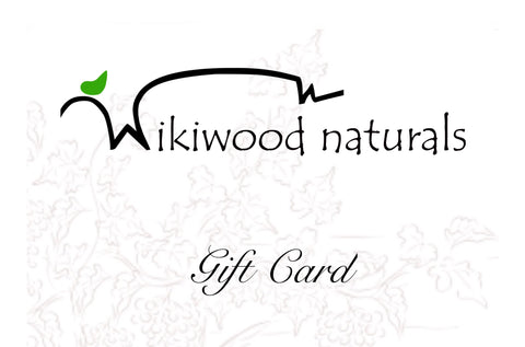 Wikiwood Naturals Gift Cards $10.00