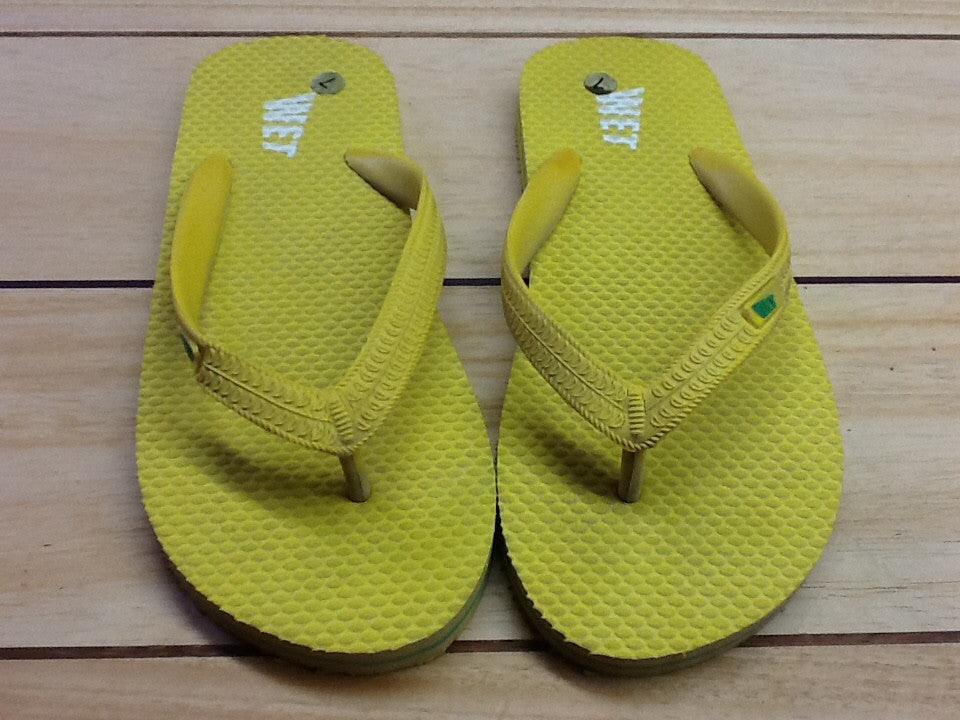 Wet Products Yellow Sandals