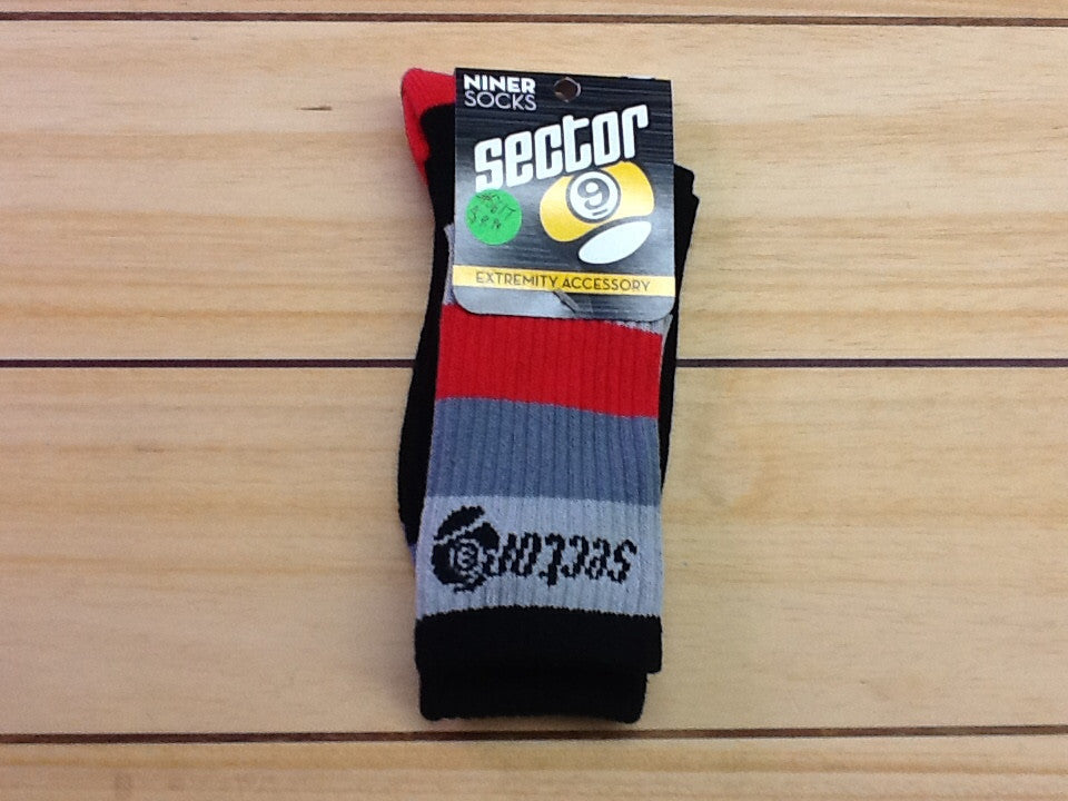Zoller Red Sector 9 Niner Socks