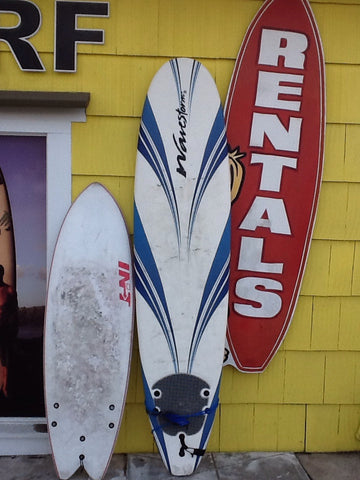 Soft Surfboard Rentals