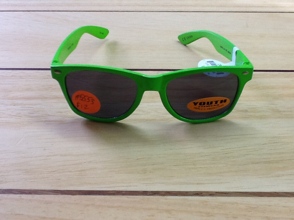 Youth Style Eyes Green Cruz-J Sunglasses