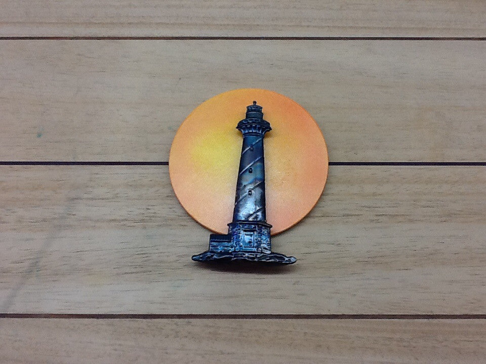 Metal Lighthouse home ornament