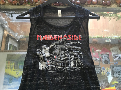 Maiden Oside Women Sleeveless Tee