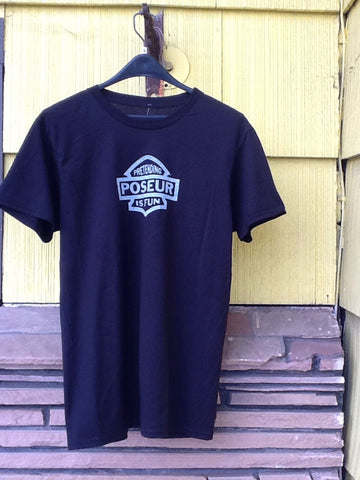 Poseur Rubby Badge tee