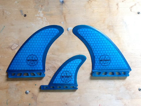 Watermark Twin Fins w/ Small Center