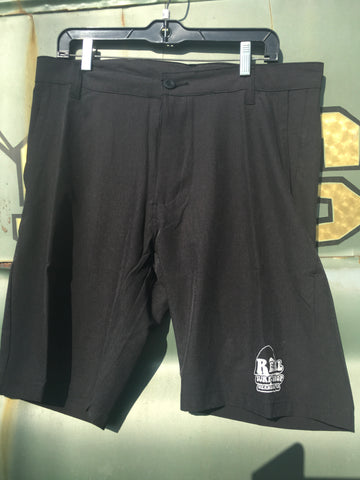 Burnside/Real Surf Charcoal Trunks