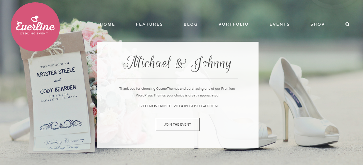 wedding website design personal consultation down payment