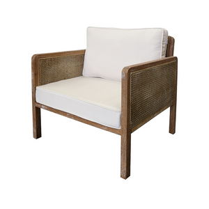 SOUK COLLECTIVE - Clementi Rattan Lounge Chair