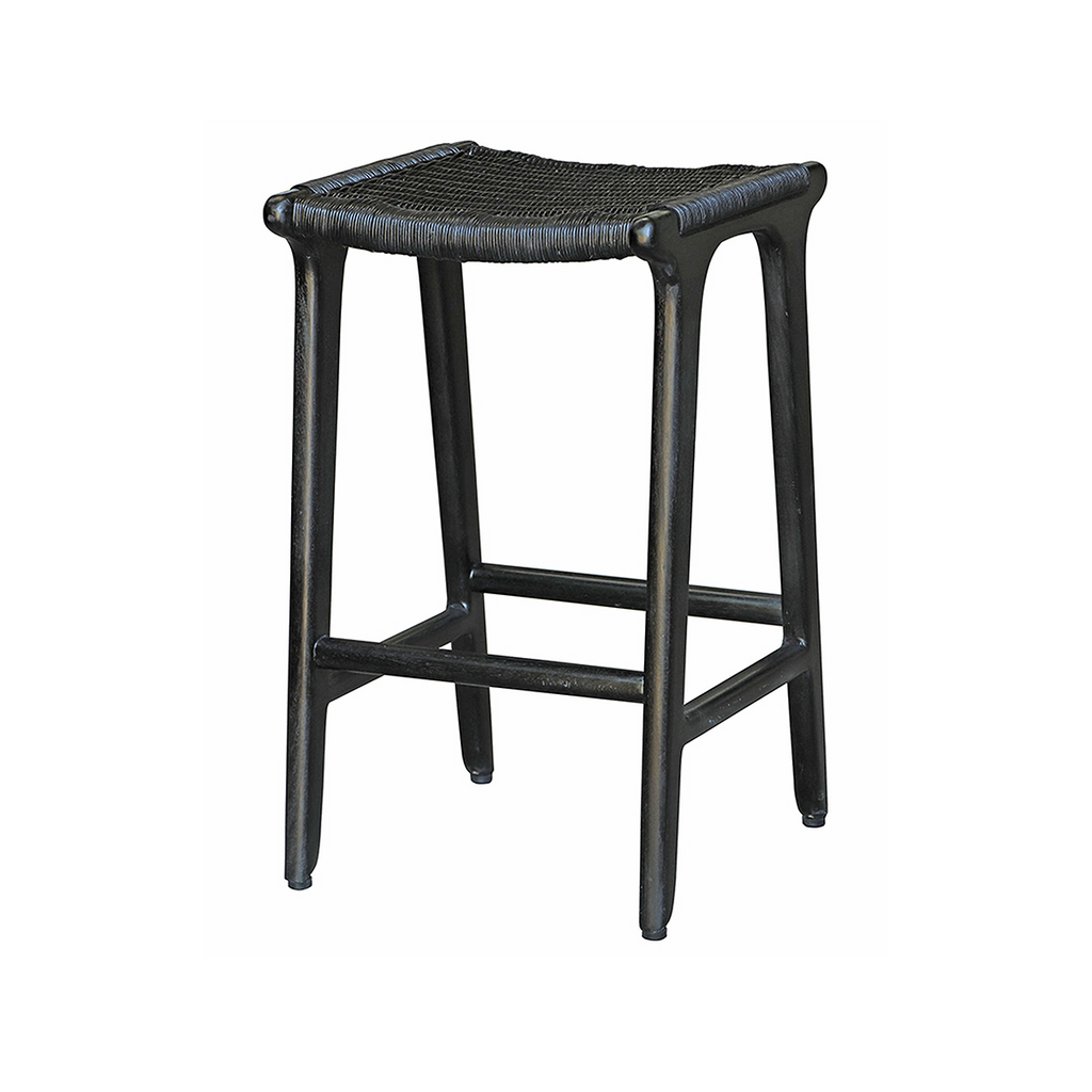 SOUK COLLECTIVE | Matuna Stool Black