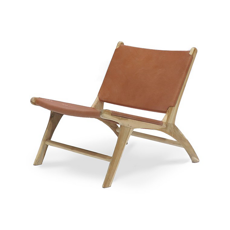 SOUK COLLECTIVE | Hyde Low Chair Tan
