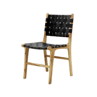 SOUK COLLECTIVE | Hayes Dining Chair Black
