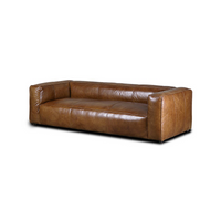 SOUK COLLECTIVE | Yale Sofa Three Seat - Tan