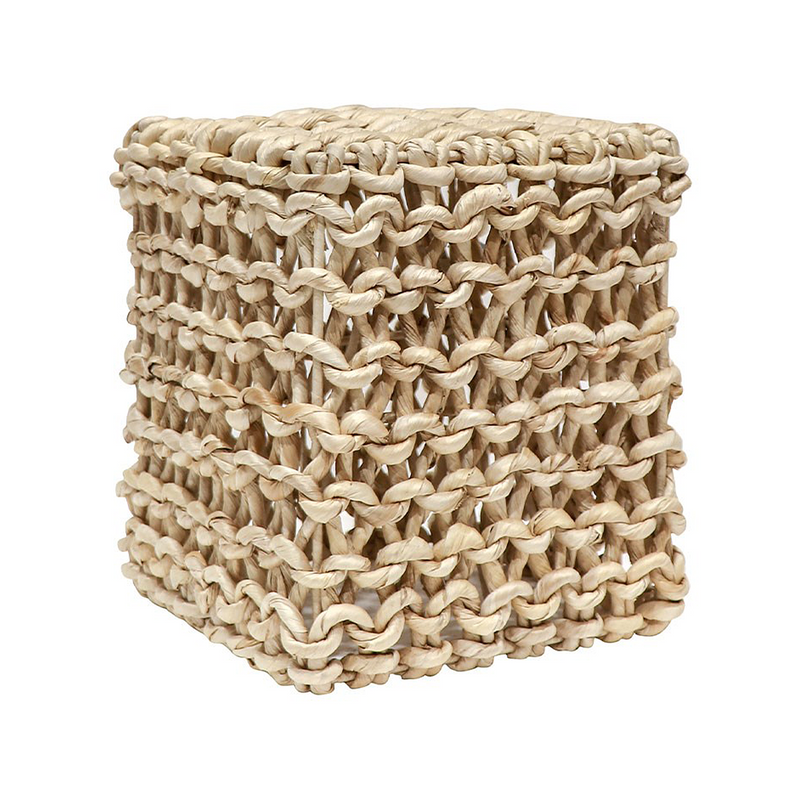 SOUK COLLECTIVE | Abaca Side Table Square