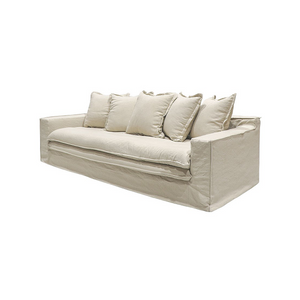 SOUK COLLECTIVE | Keely Slipcover Sofa Oatmeal
