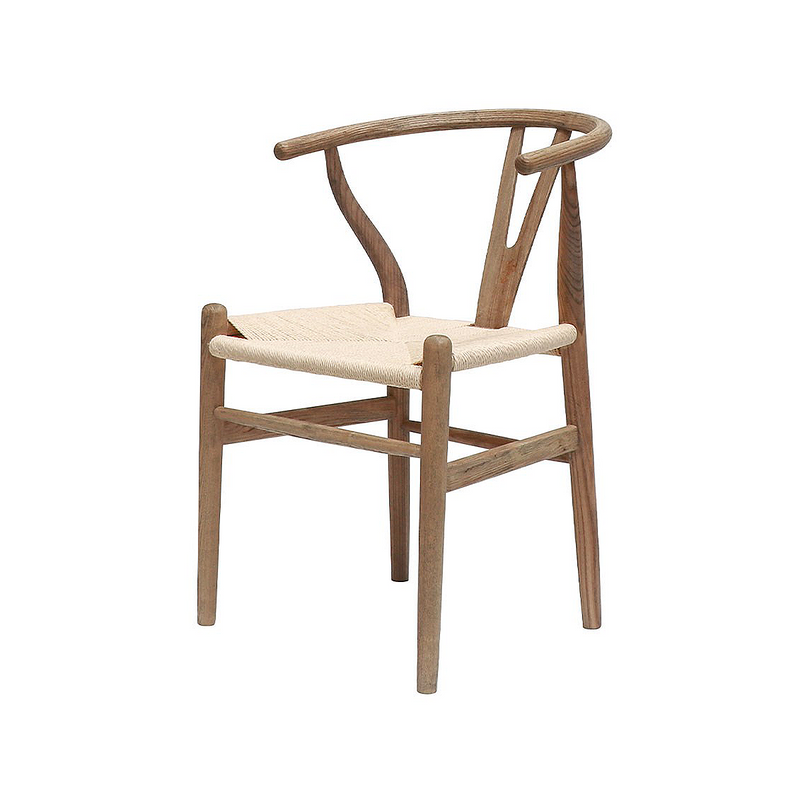 SOUK COLLECTIVE | Wishbone Dining Chair Natural