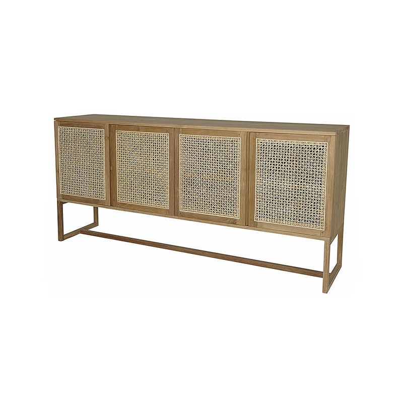 SOUK COLLECTIVE | Willow Woven Buffet Natural