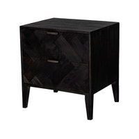 Raven Bedside Table