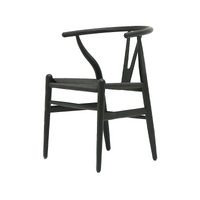 Wishbone Dining Chair Black