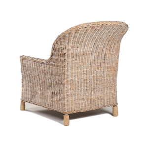 Sanur Lounge Chair Whitewash