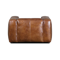 SOUK COLLECTIVE | Yale Leather Armchair Tan