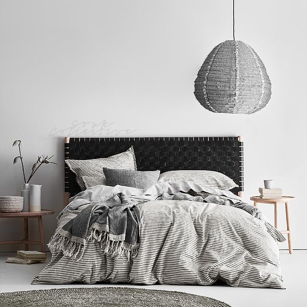 Hayes Headboard Black - King/Super King