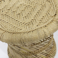 SOUK COLLECTIVE | Mele Wicker Side Table