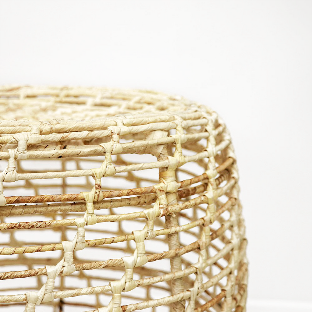SOUK COLLECTIVE | Abaca Side Table Natural
