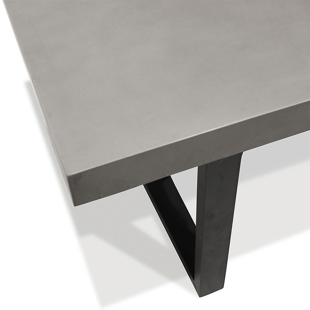 SOUK COLLECTIVE - Nero Concrete Dining Table 200cm