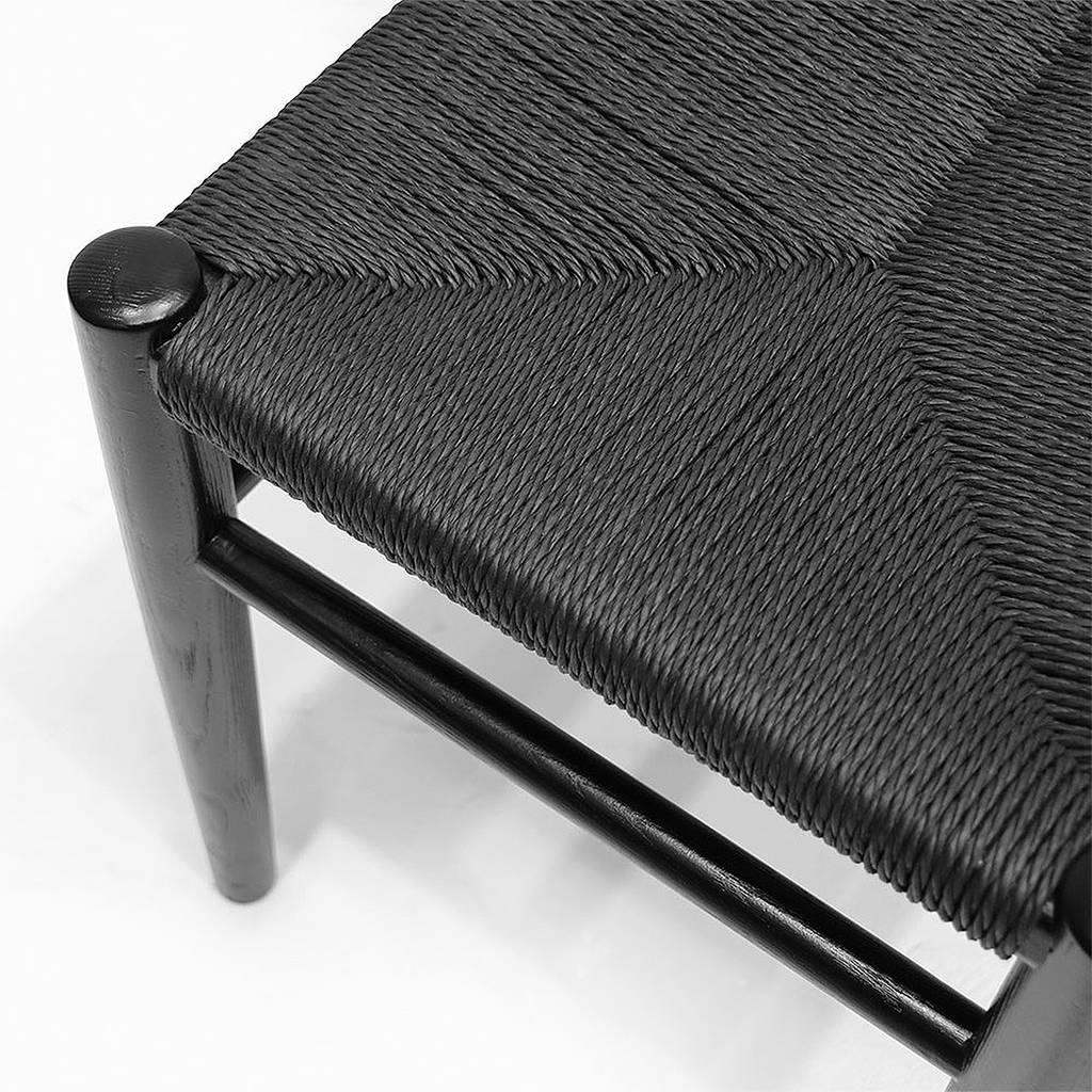 SOUK COLLECTIVE | Joffrey Bench 180cm Black